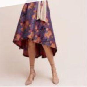 Anthropologie High Low Skirt